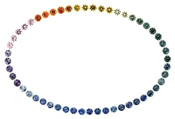 Montana Sapphires come in a rainbow of colors.