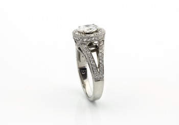 Palladium Diamond Ring