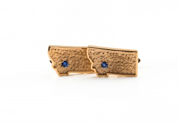 Rose Gold Yogo Cufflinks