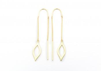 14k Thread Earrings