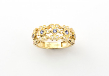 14k Yogo Fashion Ring