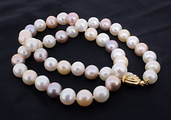 Repaired Pearl Necklace